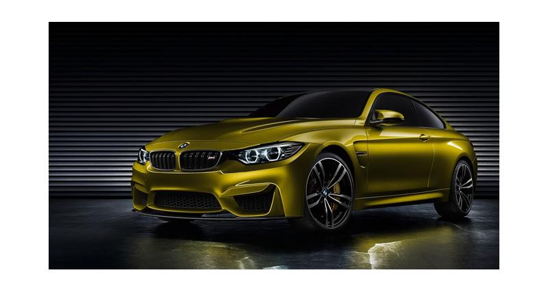 La BMW M4 dans les starting-blocks