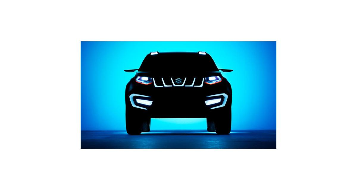 Suzuki iV-4 : un nouveau concept de SUV pour Francfort
