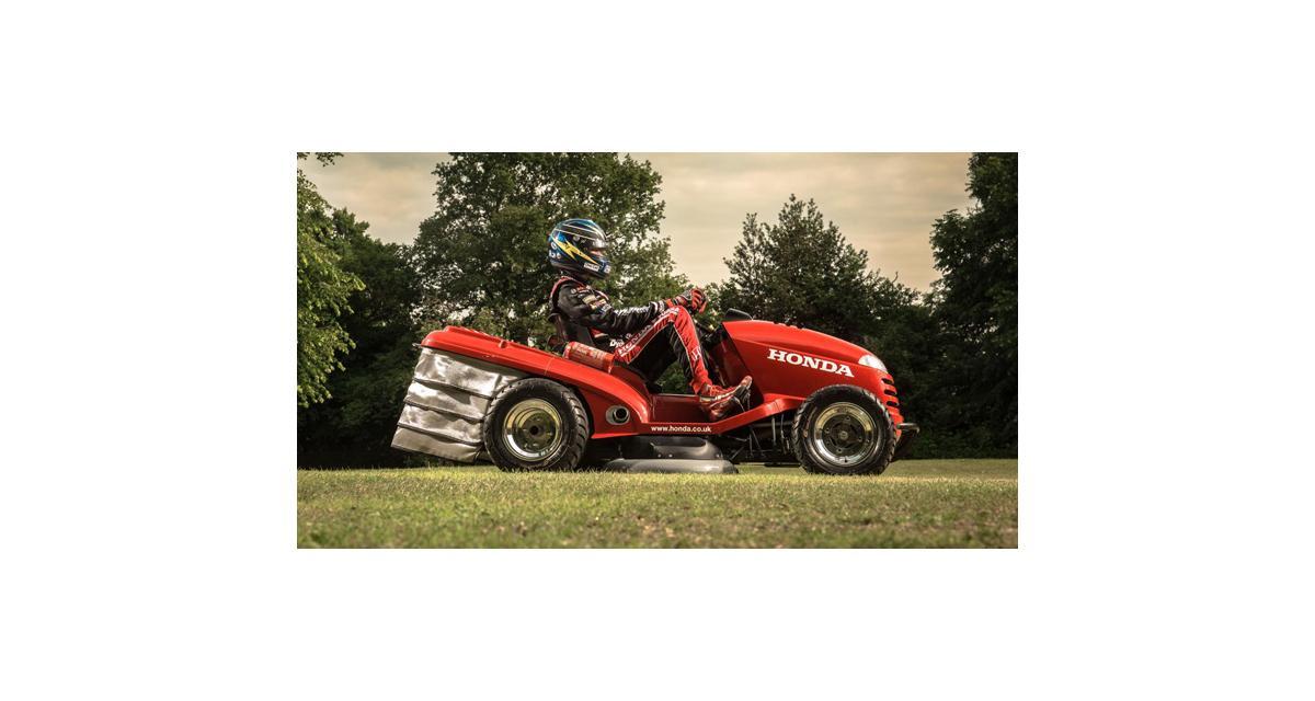 Honda Mean Mower : la tondeuse supercar