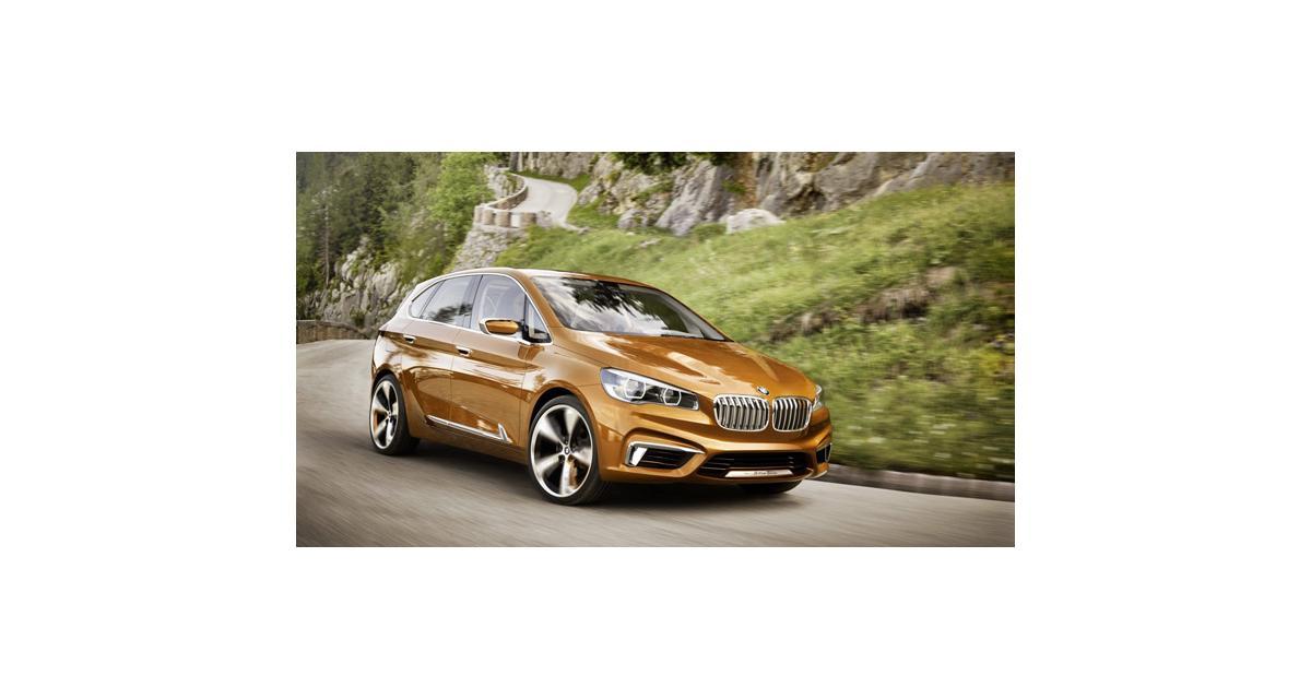 BMW Active Tourer Outdoor : la Série 1 GT en approche