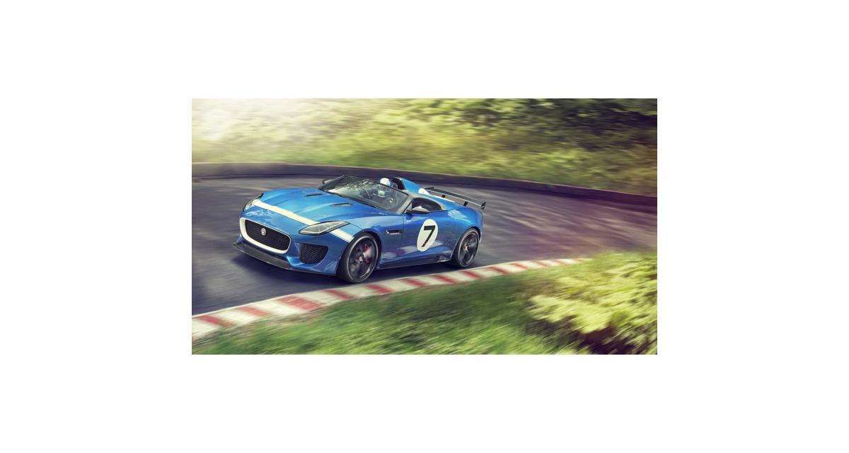 Jaguar Project 7 : la F-Type fait des petits à Goodwood