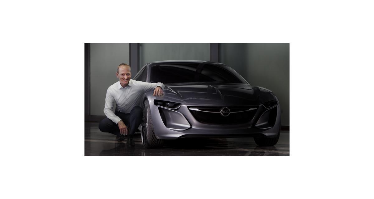 Opel Monza Concept : grand coupé connecté