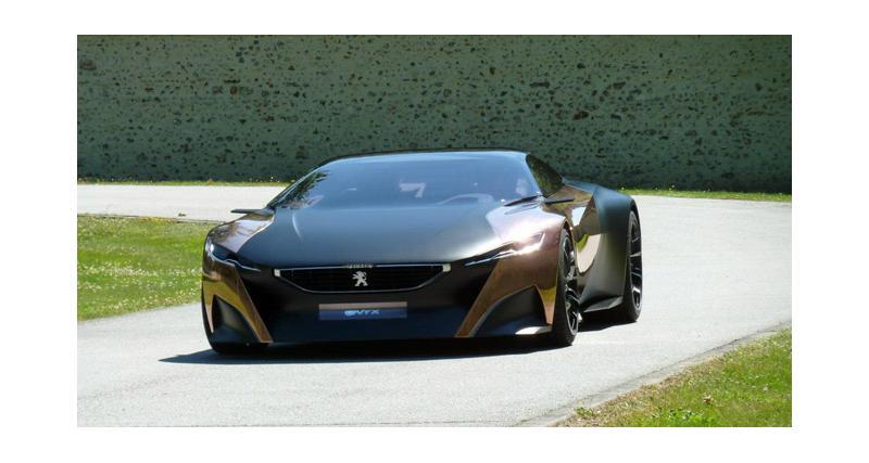 Peugeot Onyx : gagnez le droit d'être passager dans le concept à Goodwood