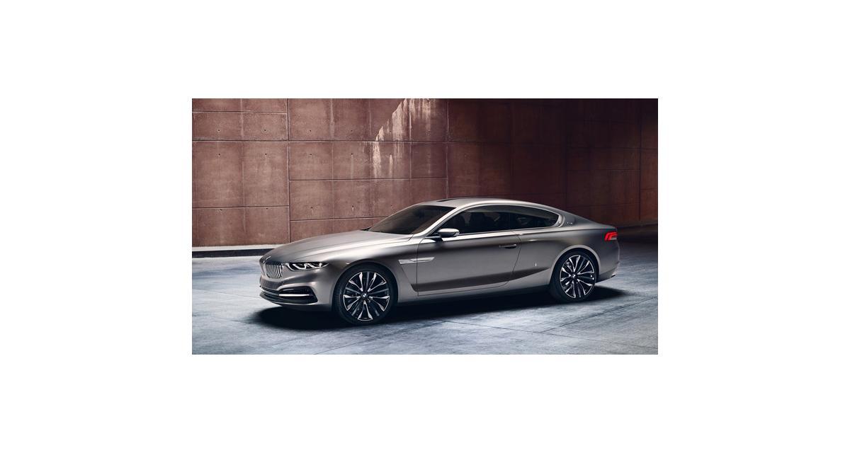 BMW Pininfarina Gran Lusso Coupé : la Série 8 en filigrane