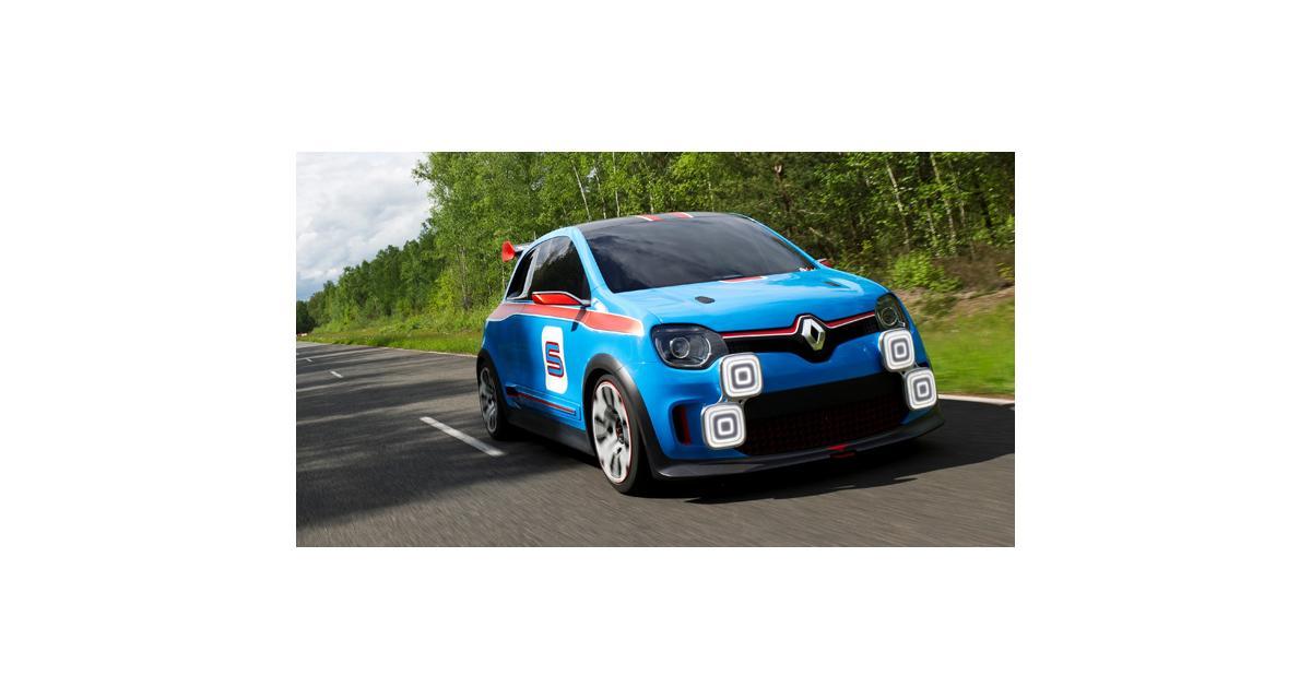 Renault Twin'Run : une Twingo 3 avec un V6 3.5 de 320 ch