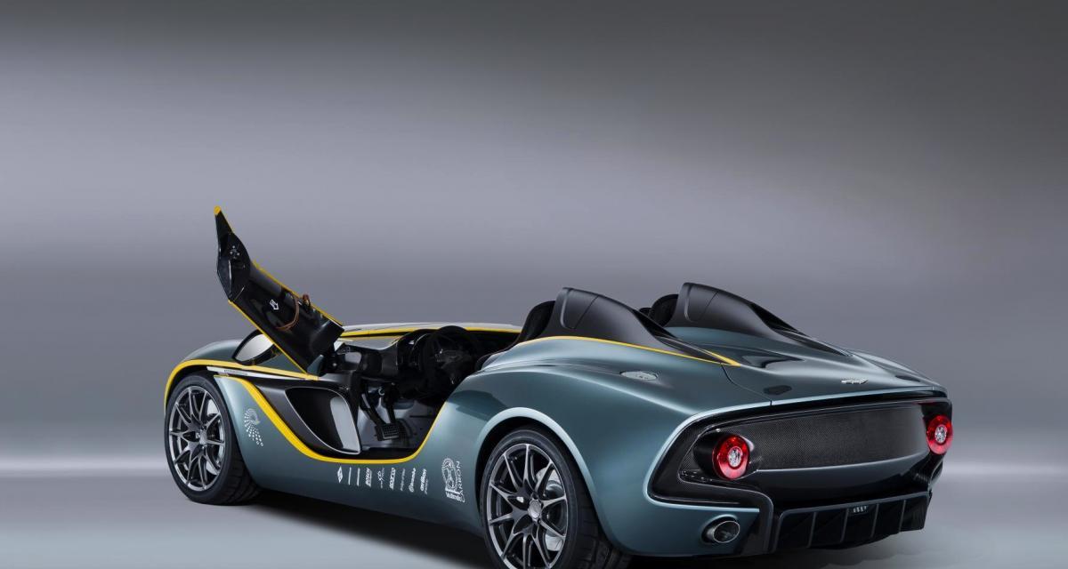 Aston Martin CC100 Speedster Concept : héritage sportif