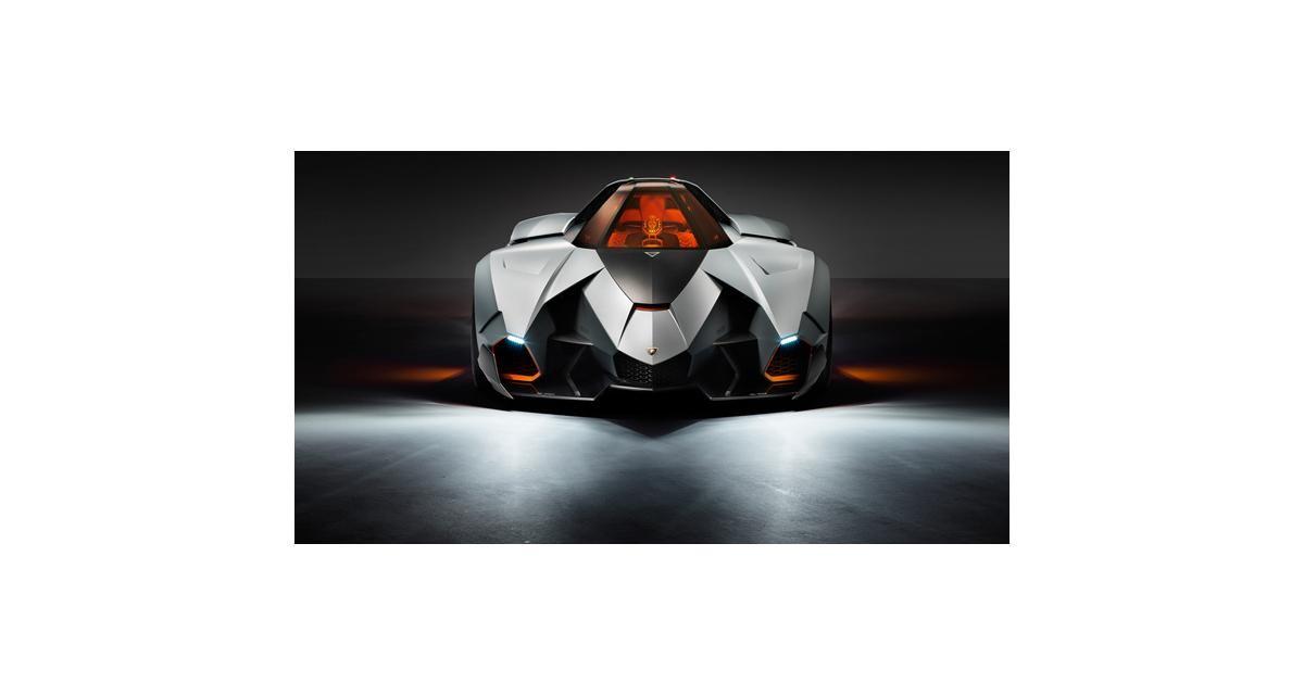 Lamborghini Egoista : monoplace forte
