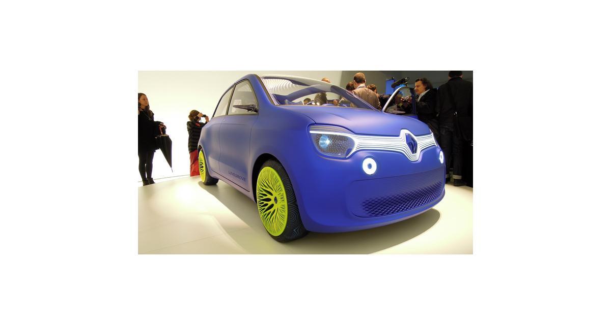 Renault Twin'z : la Twingo des beaux-arts