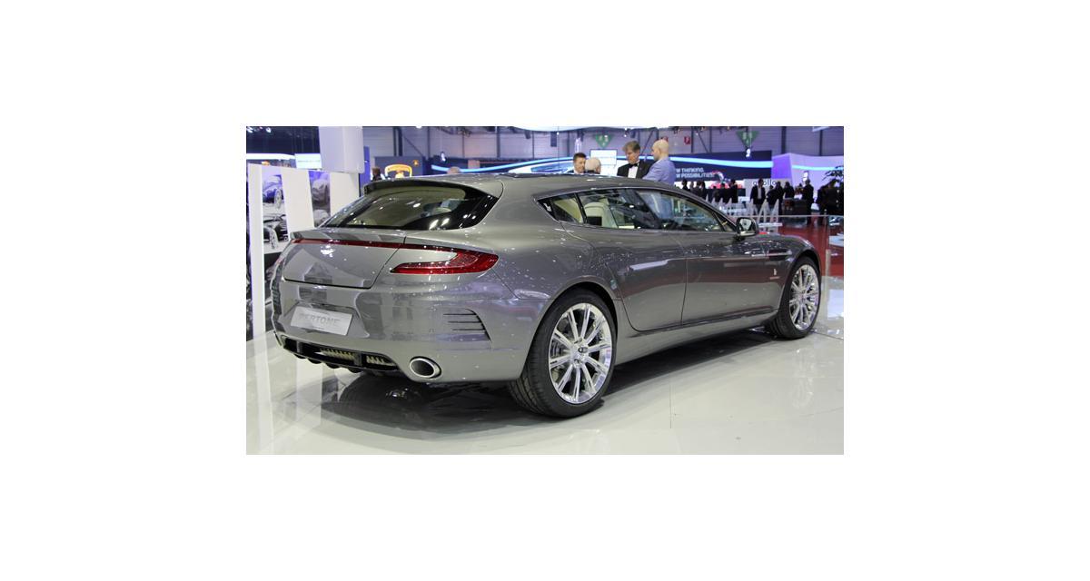 Aston Martin Rapide Bertone : nos photos de Genève