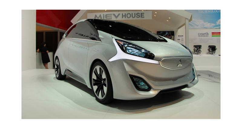 Mitsubishi CA-MiEV concept à Genève: future concurrente de la Renault ZOE