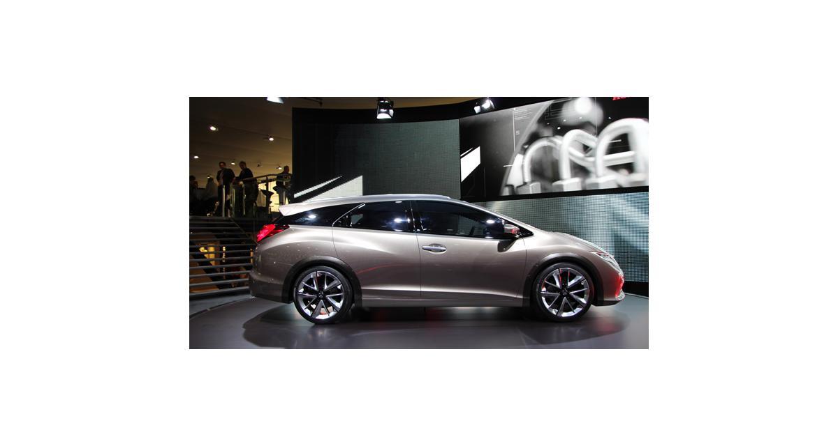 Honda Civic Tourer concept à Genève : la future version break de la Civic