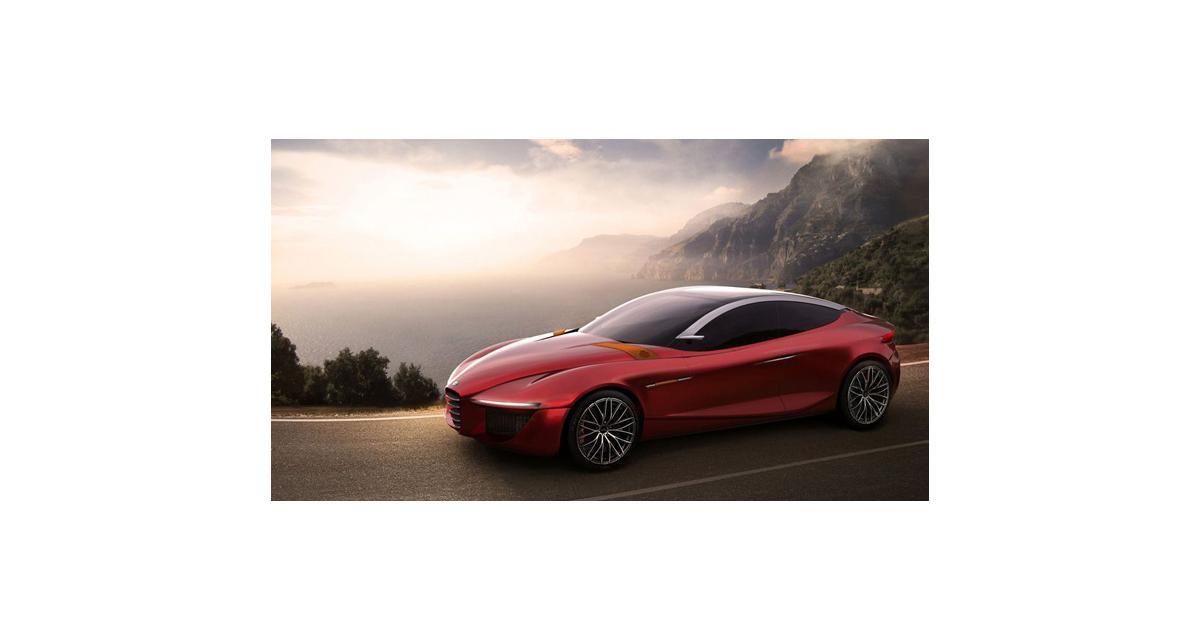 Alfa Romeo Gloria Concept : une grande berline sportive à Genève