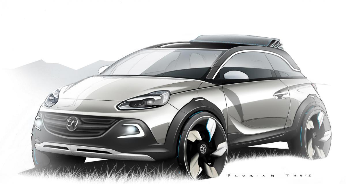 Opel Adam Rocks : une citadine lifestyle baroudeuse et cabrio