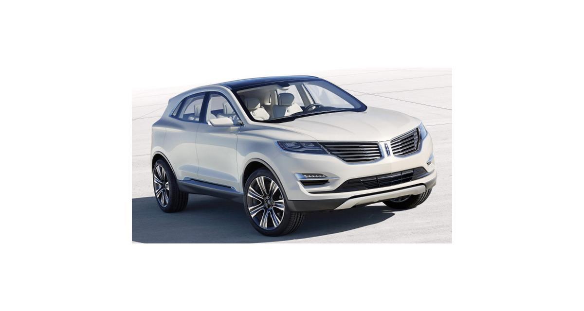Detroit 2013 : Lincoln MKC Concept