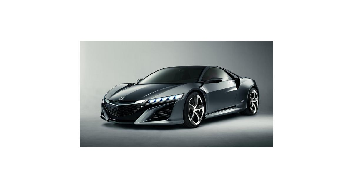 Honda NSX (Detroit 2013) : la mythique GT de retour