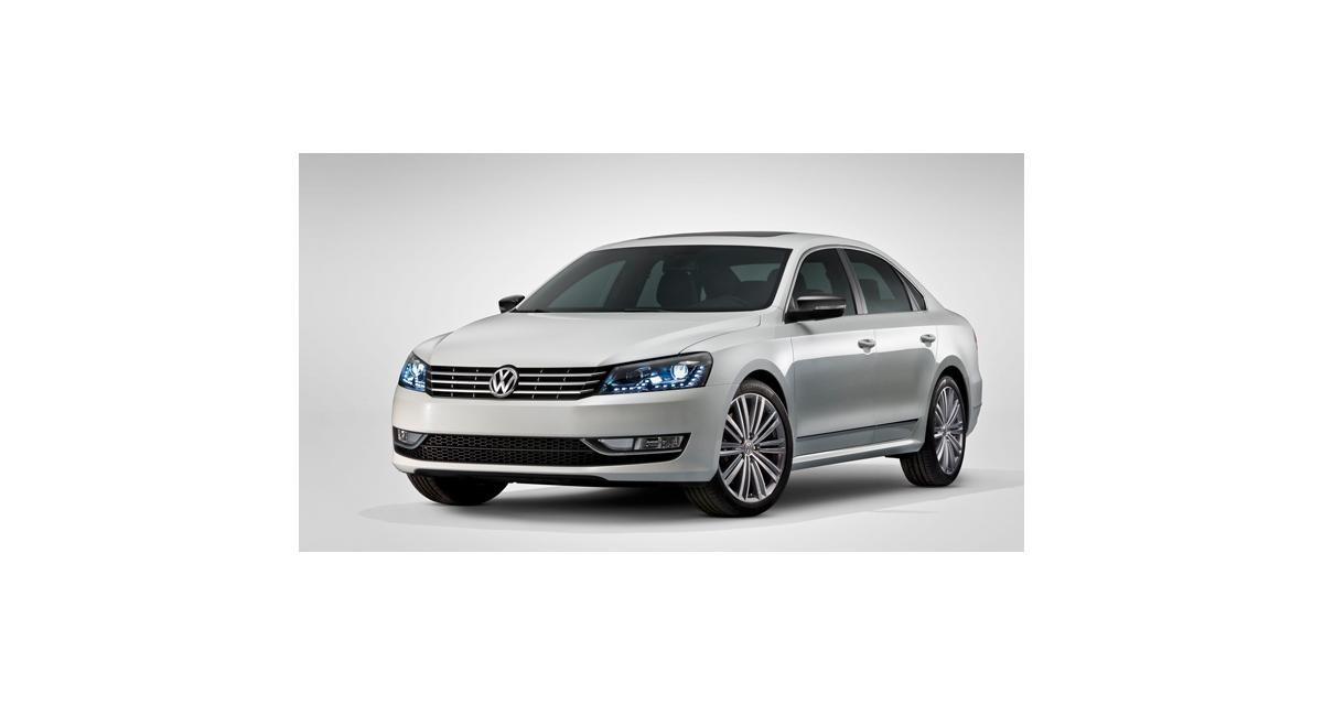 Detroit 2013 : Volkswagen Passat Performance concept