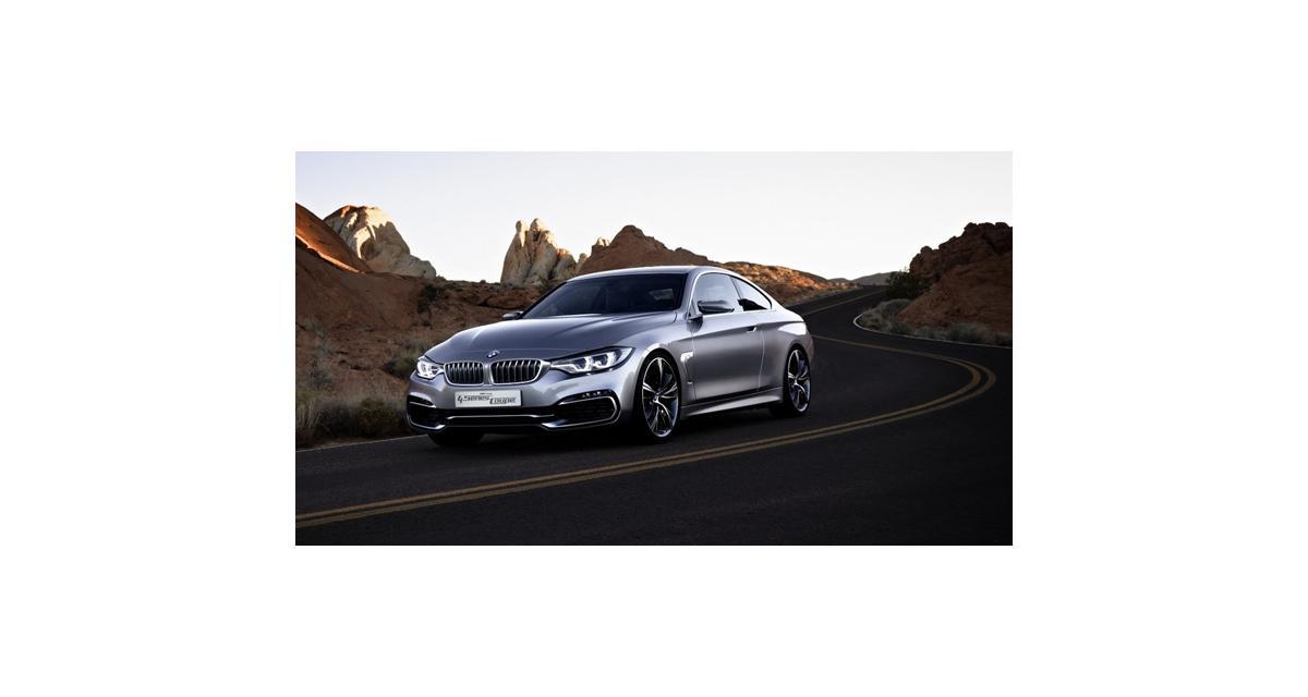 BMW Série 4 Coupé Concept (Detroit 2013) : les premières infos et toutes les images