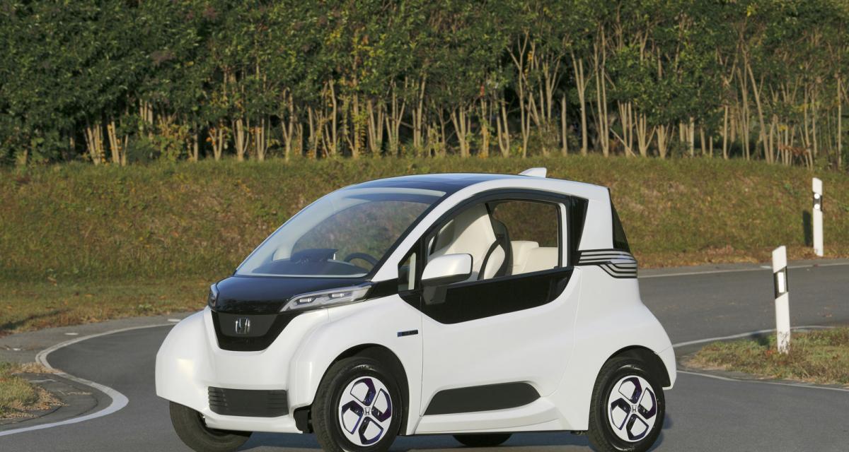 Honda Micro Commuter Prototype : le Twizy japonais