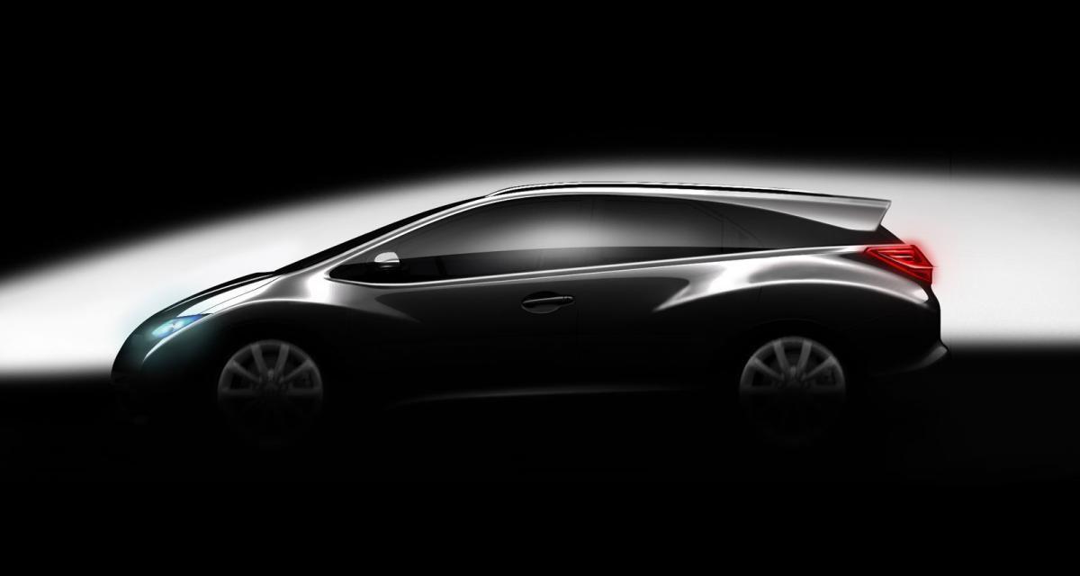 Honda Civic : le break confirmé