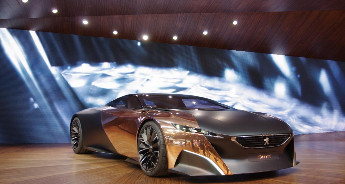 en direct du mondial de l 39 auto peugeot onyx concept. Black Bedroom Furniture Sets. Home Design Ideas