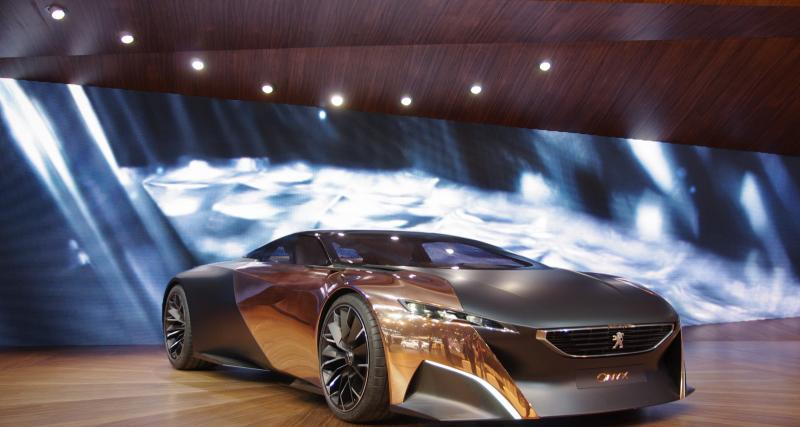 En direct du Mondial de l'Auto : Peugeot Onyx Concept