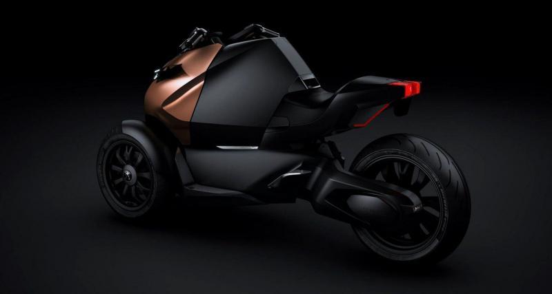 Mondial de l'Auto 2012 : Peugeot Onyx Concept Scooter