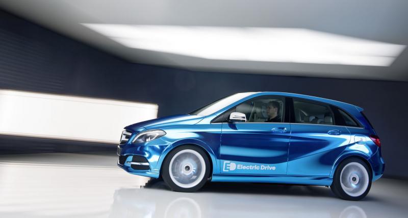 Mondial 2012 : Mercedes Classe B Electric Drive Concept
