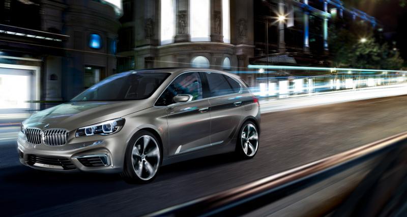 Mondial 2012 : BMW Concept Active Tourer