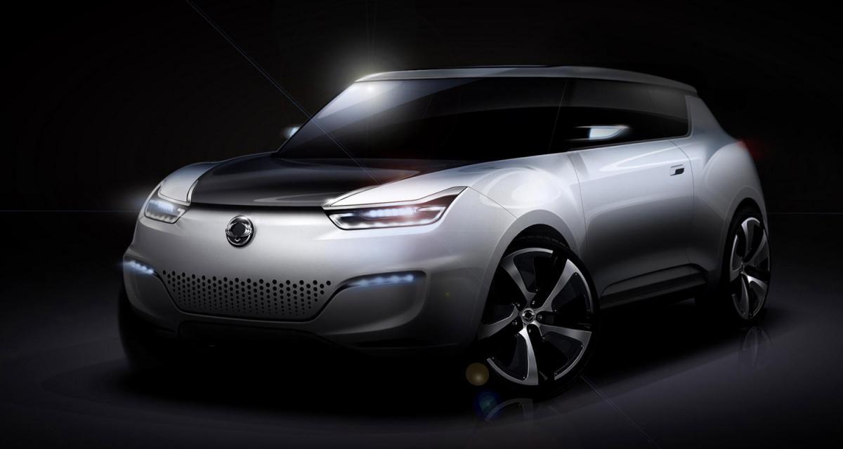 Mondial 2012 : Ssangyong e-XIV concept