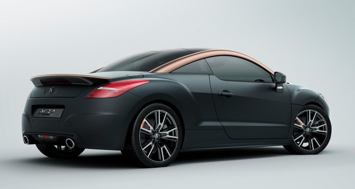 Mondial 2012 : Peugeot RCZ R Concept