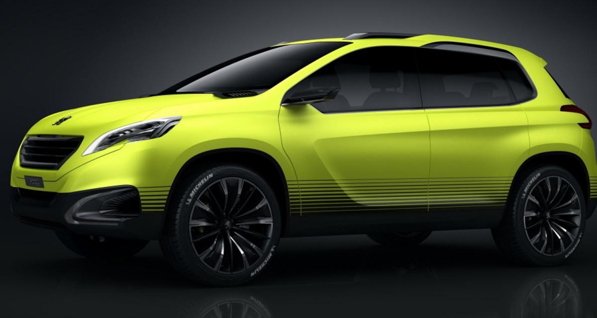 Peugeot 2008 Concept : un trois-cylindres 1.2 turbo de 110 chevaux