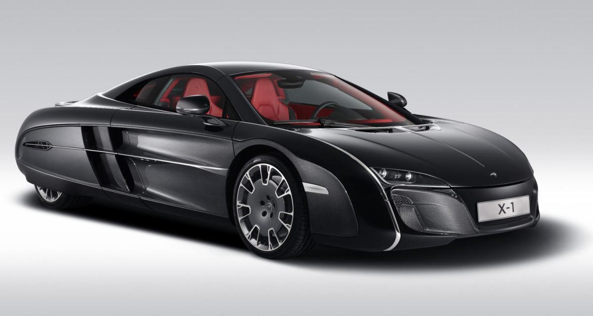 Pebble Beach 2012 : McLaren X-1