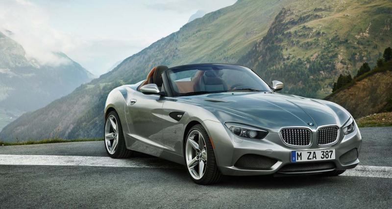 Pebble Beach 2012 : BMW Zagato Roadster