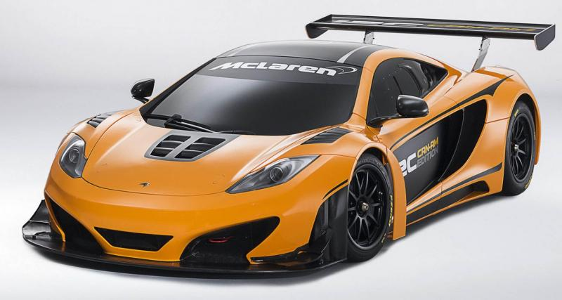 Pebble Beach 2012 : McLaren MP4-12C Can-Am Edition