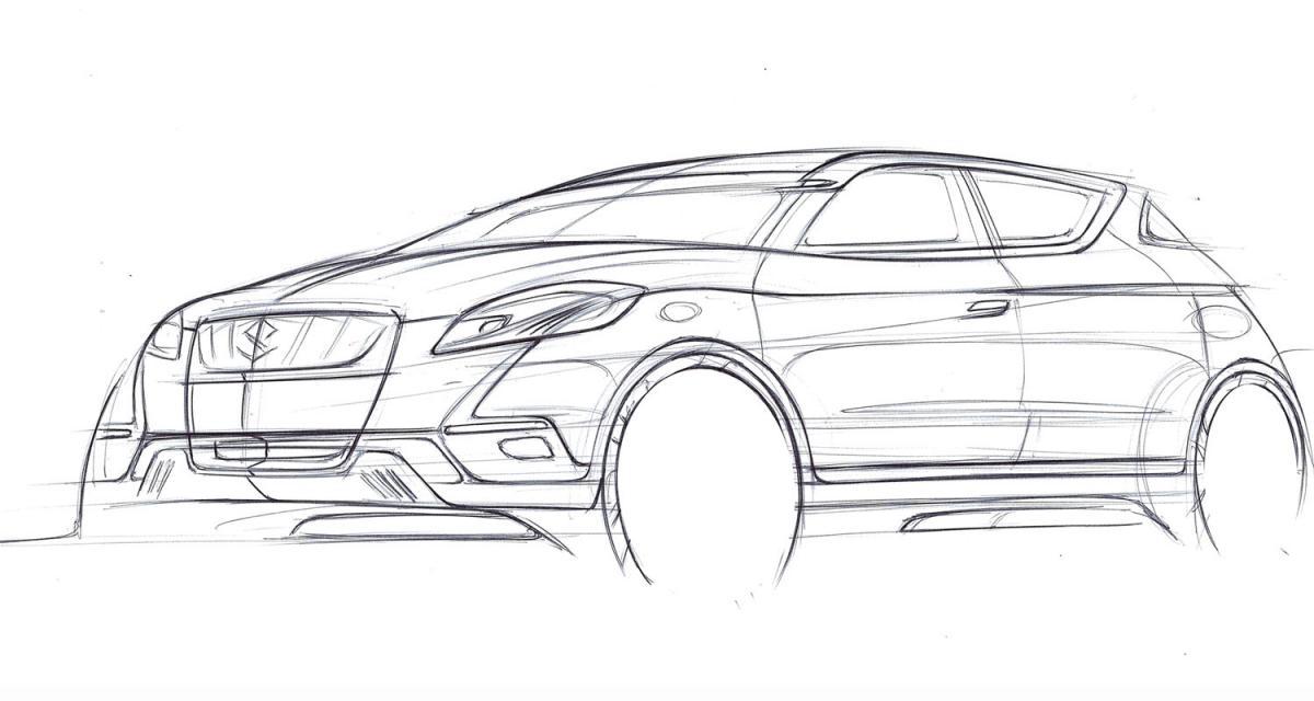 Mondial de l'Automobile 2012 : Suzuki S-Cross