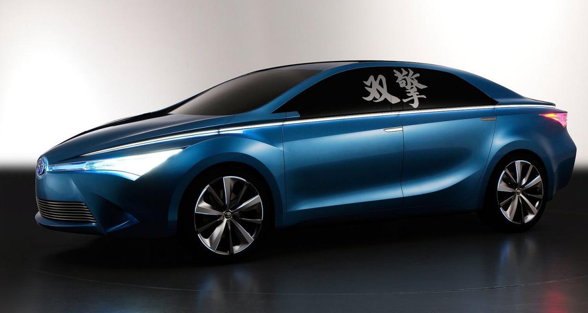 Pékin 2012 : Toyota Yundong Shuangqing Concept