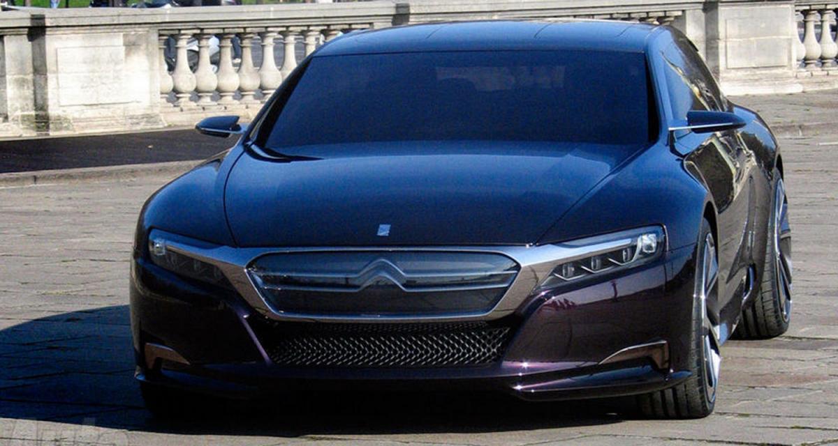 Citroën concept DS numéro 9 : l'olympe des chevrons