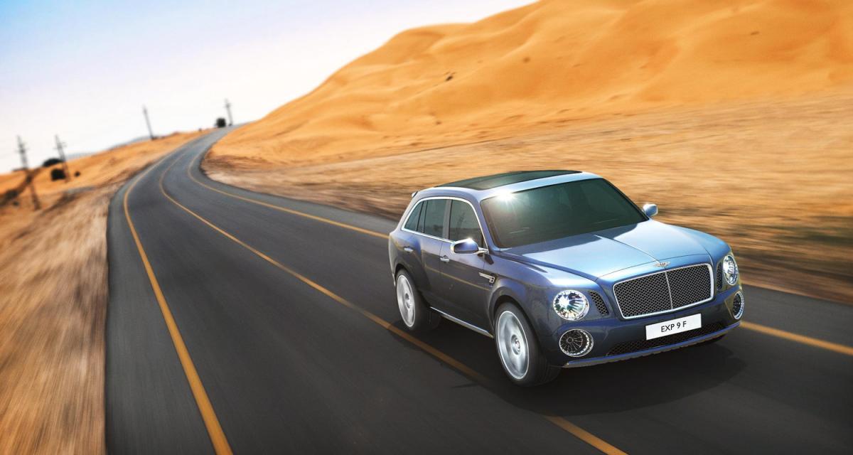 Salon de Genève : Bentley EXP 9 F concept