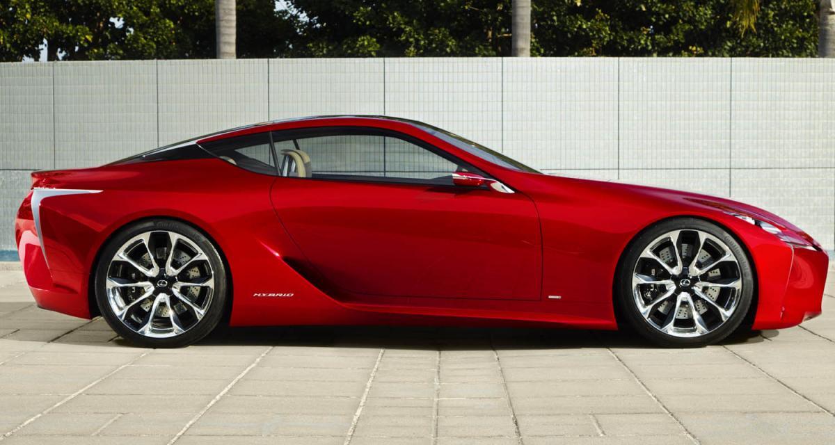Detroit 2012 : Lexus LF-LC