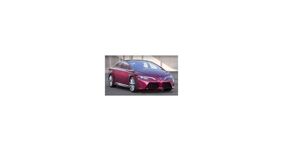 Detroit 2012 : Toyota NS4 Concept
