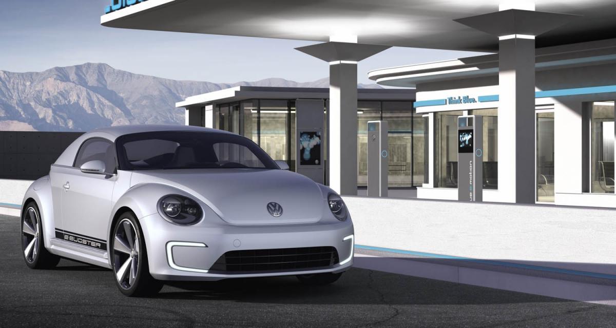 Detroit 2012 : Volkswagen E-Bugster