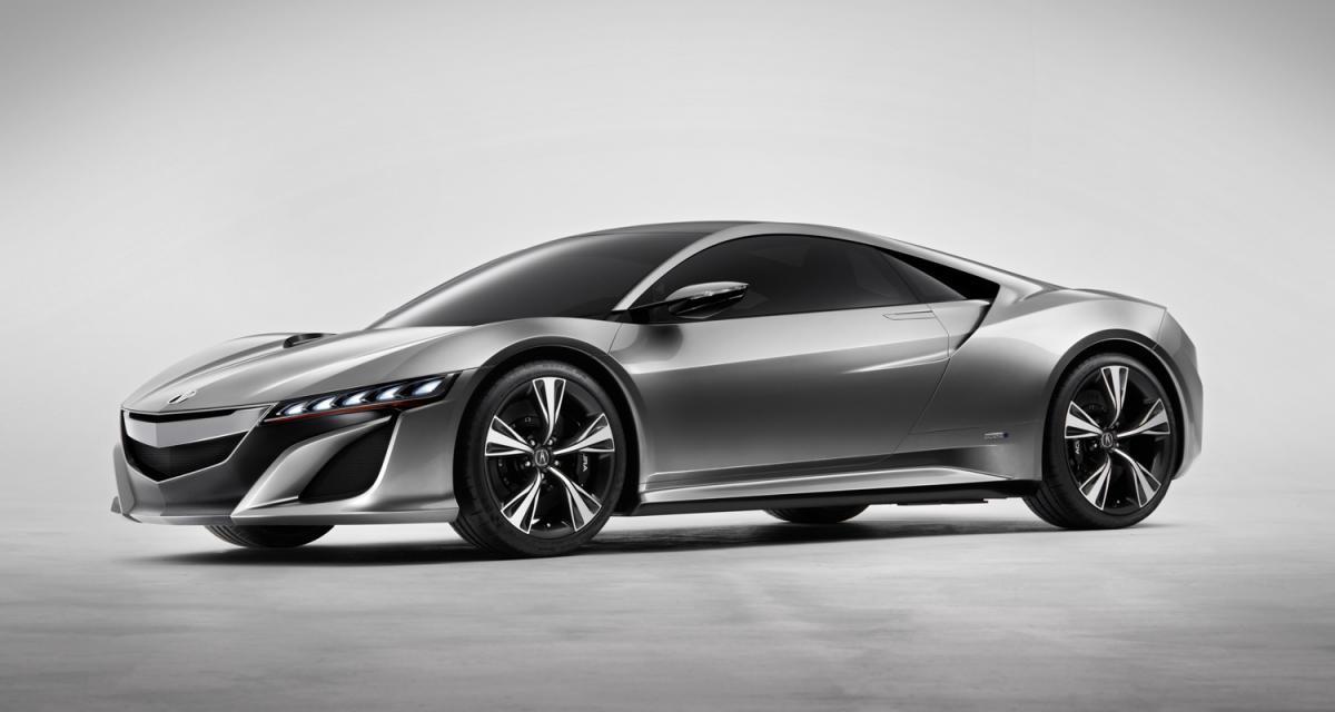 Detroit 2012 : Acura NSX