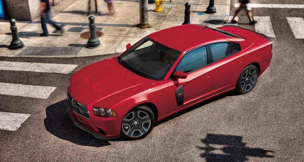 Detroit 2011 : Dodge Charger Redline