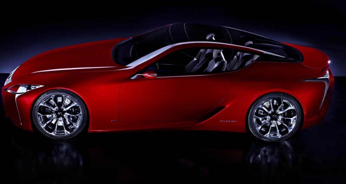 Detroit 2012 : Lexus LF-LC Concept