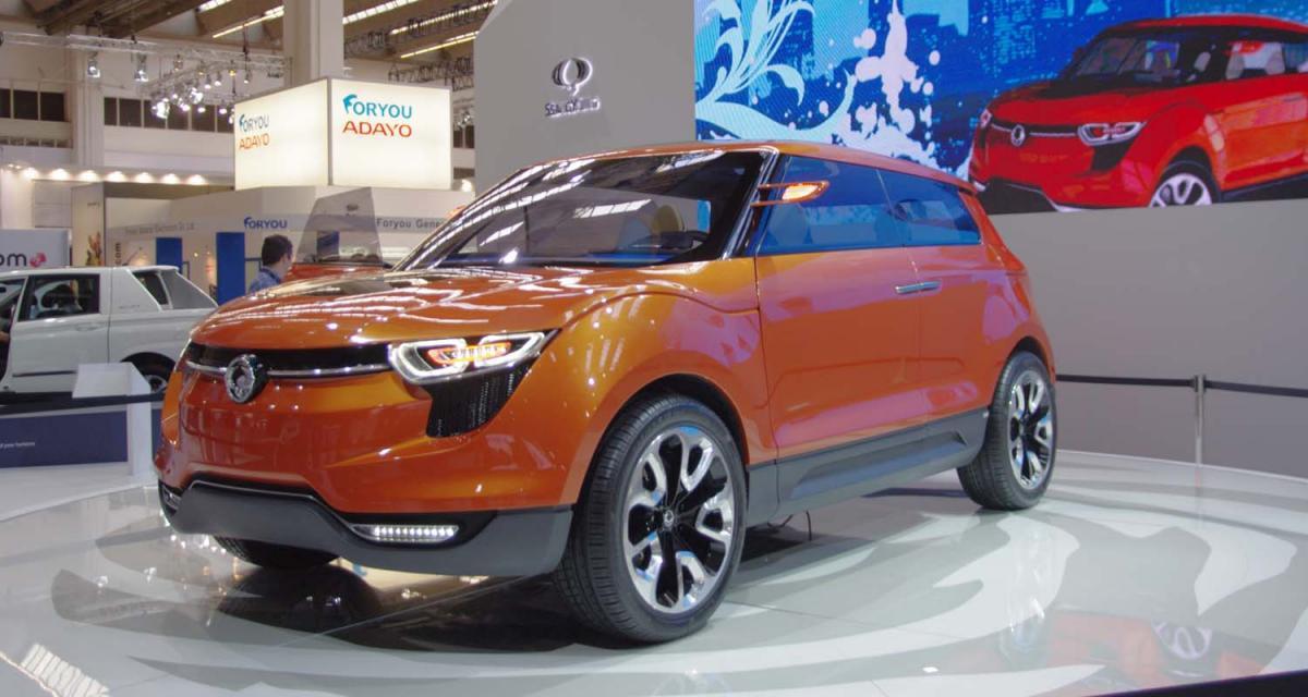 Francfort 2011 : Ssangyong XIV1