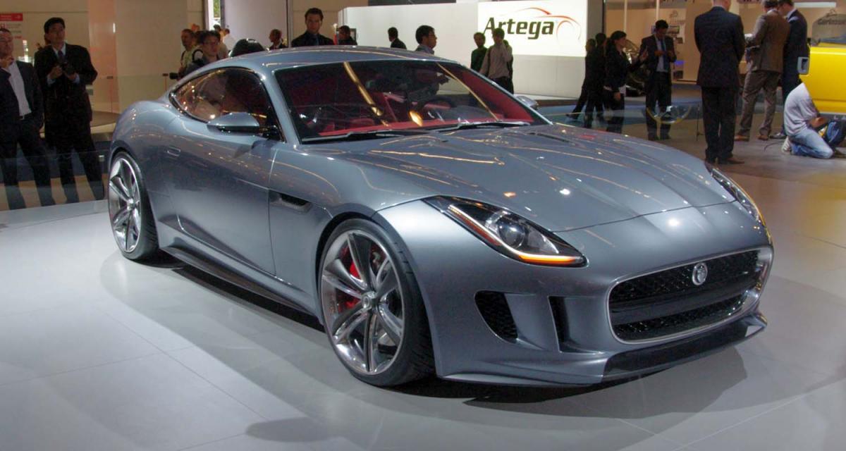 Francfort 2011: Jaguar C-X16