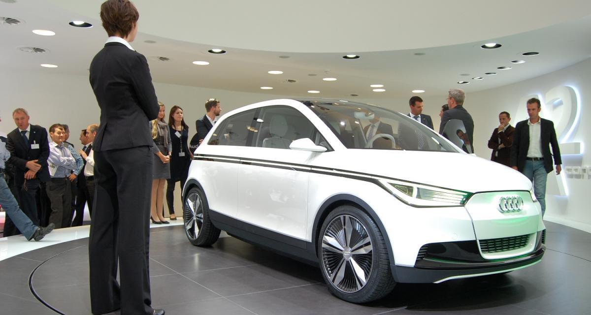 Francfort 2011 : Audi A2 concept