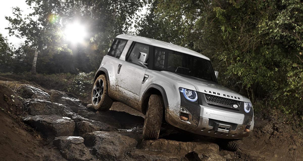 Salon de Francfort : Concept Land Rover DC100