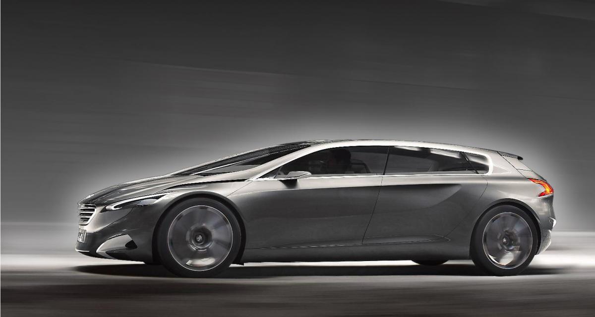 Francfort 2011 : Peugeot concept HX1, le retour du haut de gamme français ?