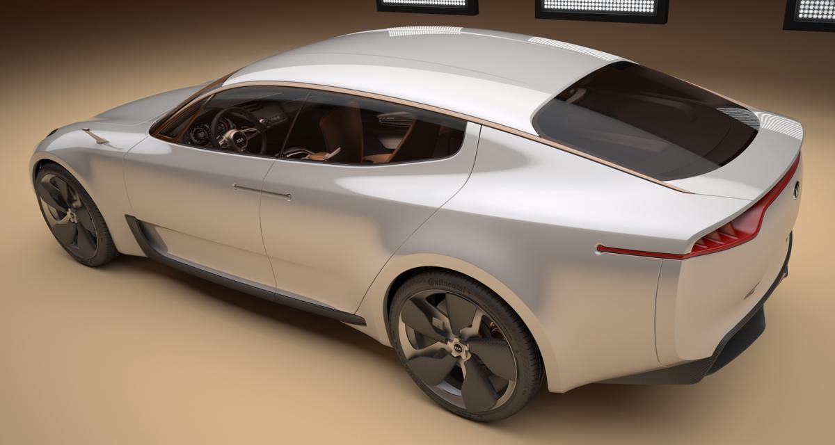 Francfort 2011 : Kia Sports Sedan Concept